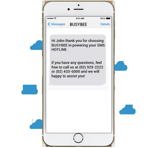 Branded SMS