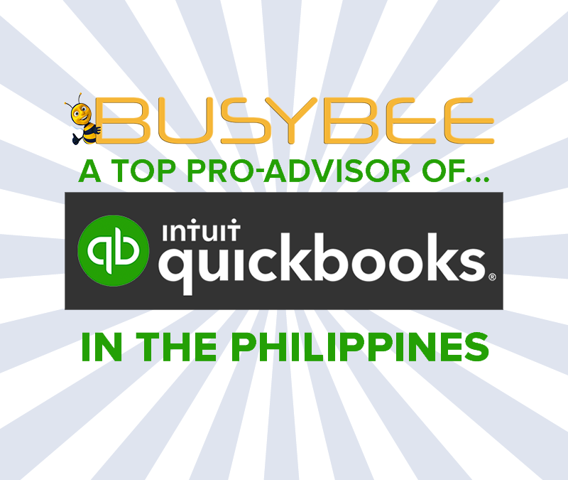We Are Now with QUICKBOOKS!