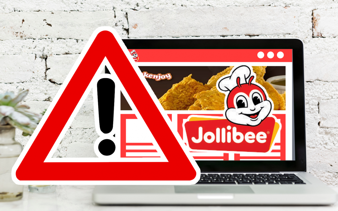 NPC Suspends Jollibee Delivery Website Due To Serious Vulnerabilities